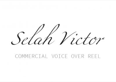 COMMERCIAL VO REEL