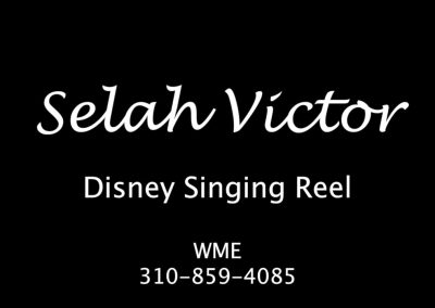 DISNEY SINGING REEL