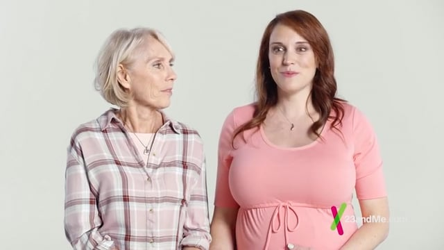Selah and her Mom star in a Commercial for 23andMe.com!