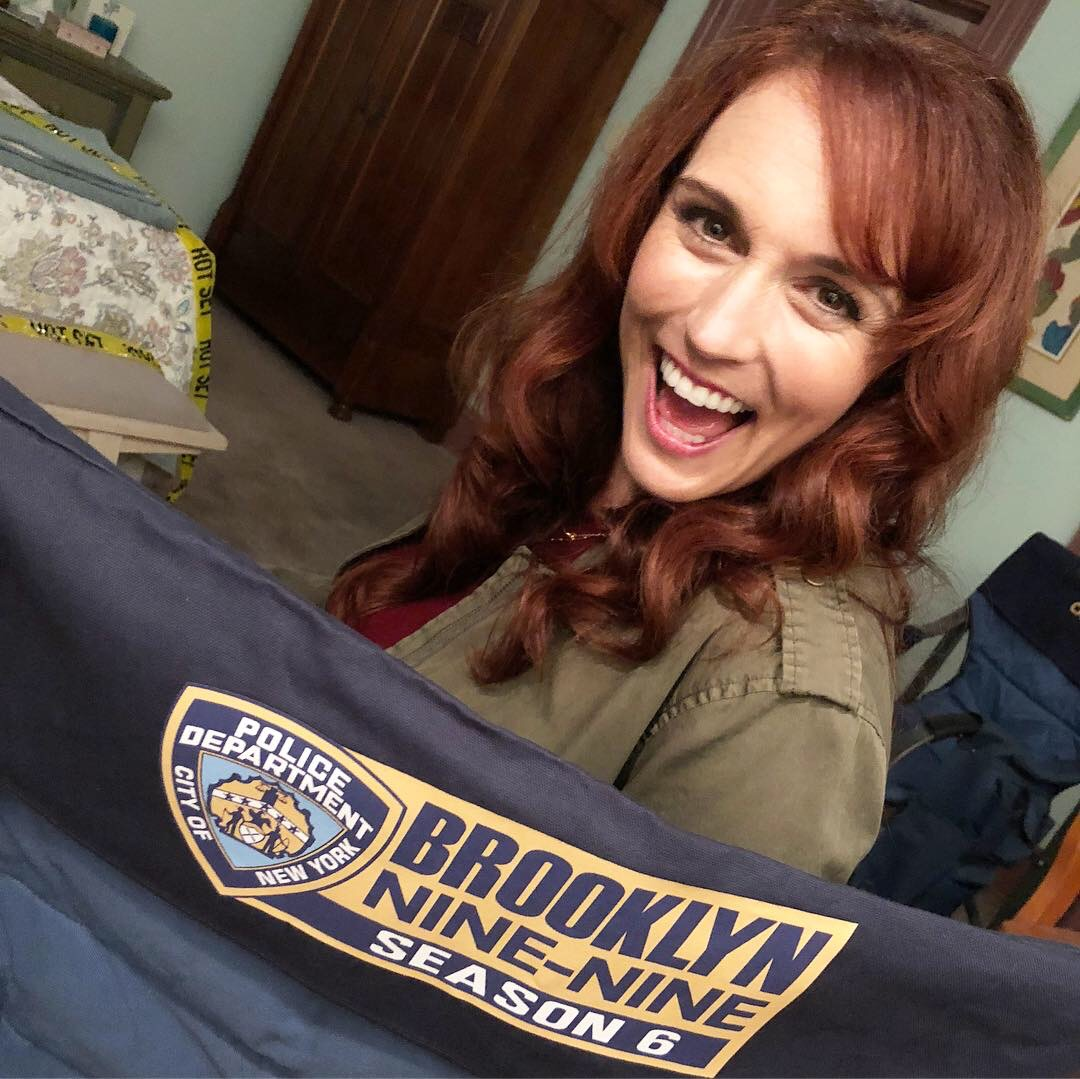 Selah shoots Brooklyn Nine-Nine!