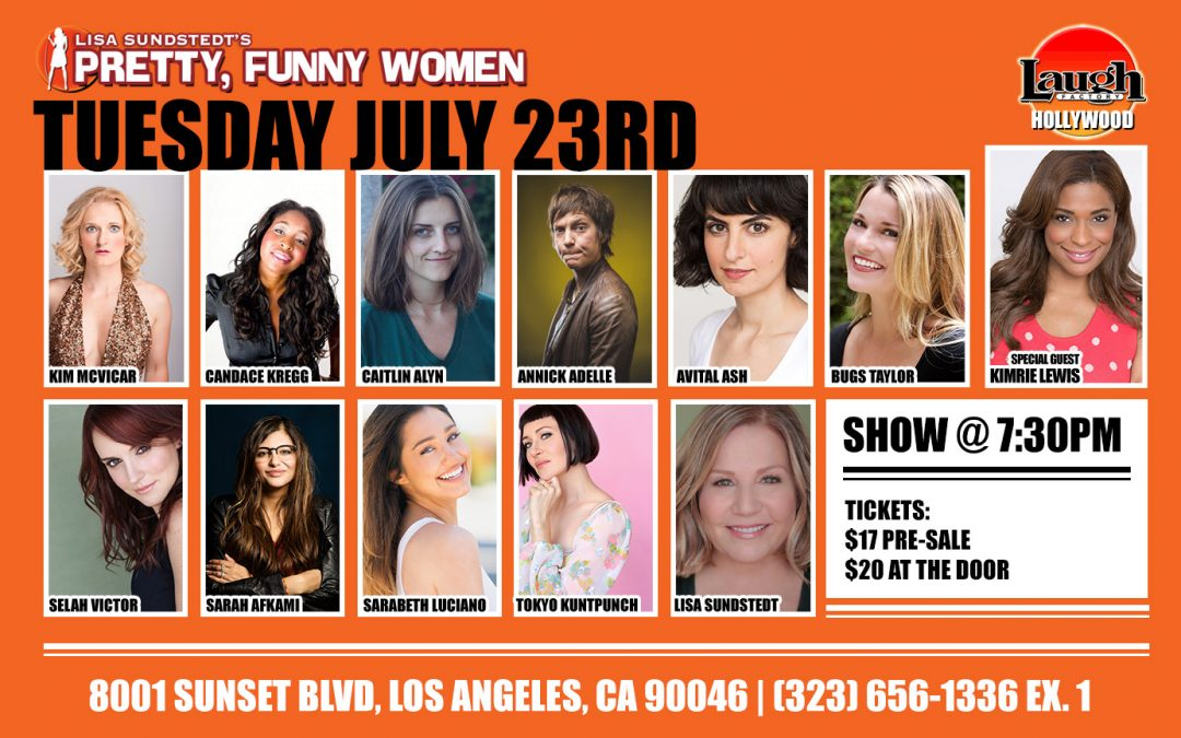 Selah at the Laugh Factory!!!